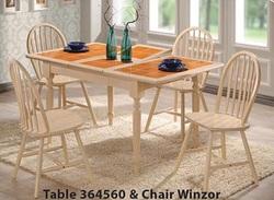 Столовый комплект СТ364560 беленый дуб (1+4)