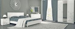 Спальня Богема (белый глянец)3