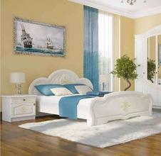 Кровать Каролина (береза) ОД