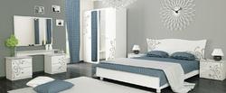 Спальня Богема (белый глянец)2