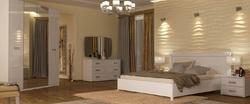 Спальня Белла (белый глянец)