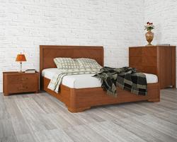 Кровать Милена с интарсией (под механизм)
