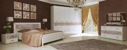 Спальня Флора (белый глянец)2