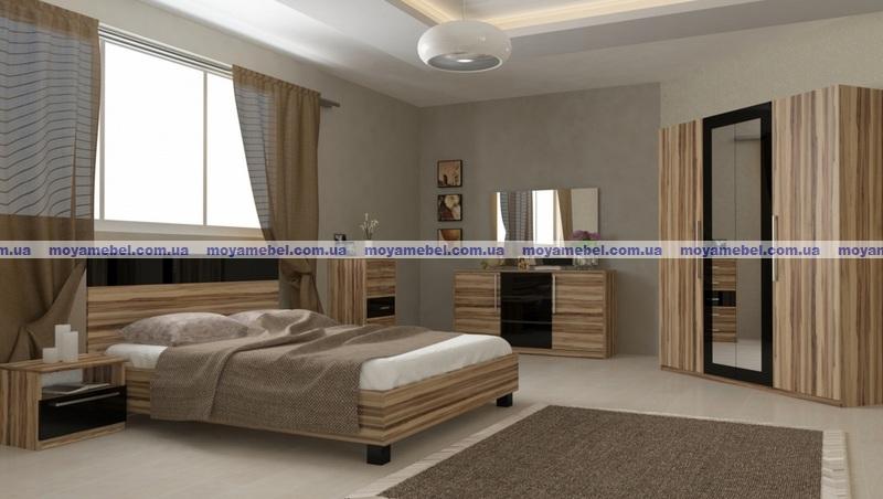 спальня соната орех балтимор мебельной фабрики Miromark фото цена