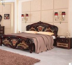 Кровать Реджина (перо рубино)