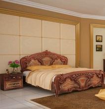 Кровать Реджина (перо орех)