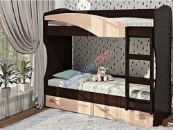 Кровать К-114 двухъярусная