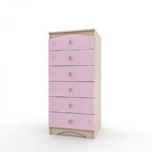Комод Kiddy розовый
