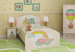 Кровать Зайка