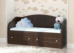 Кровать-диван Мишка МДФ орех