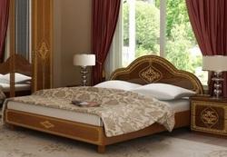 Кровать Футура нова (вишня бюзум)
