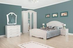 Спальня Луиза белое золото