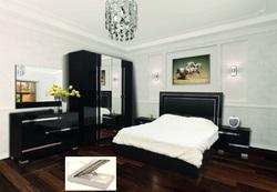 Спальня Экстаза черная