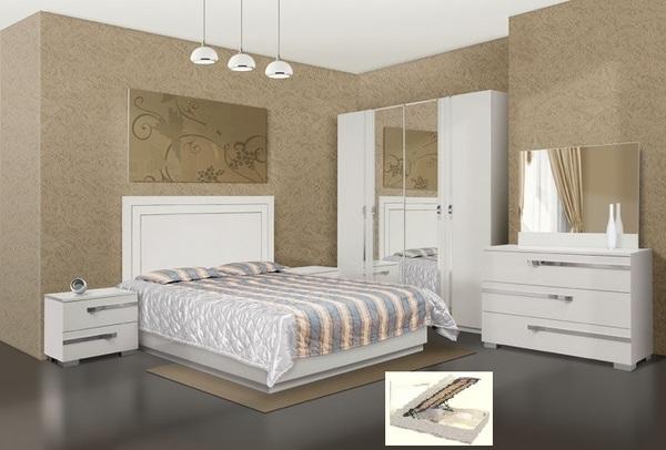 Спальня Экстаза белая
