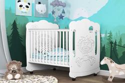 Детская кроватка Львенок