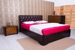Кровать Милена с мягкой спинкой (ромбы) под. мех.