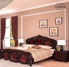 Кровать Олимпия (рубино)