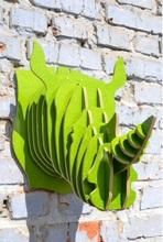 Настенный декор (Носорог)
