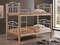 Кровать Миранда двухъярусная крем
