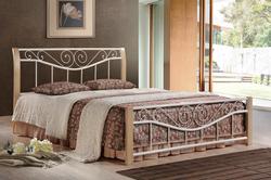 Кровать Ленора крем