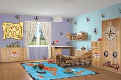 Детская комната Корабль