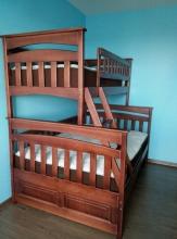 Семейная двухъярусная кровать Русалочка