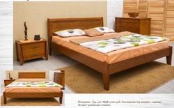Кровать Сити без изножья с интарсией