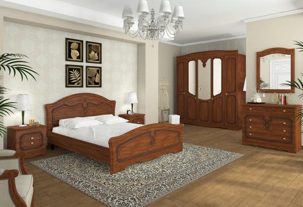 Спальня Николь яблоня ОД
