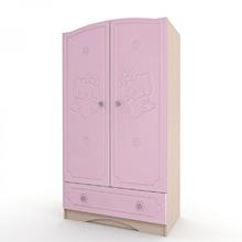 Шкаф Kiddy розовый