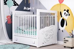 Детская кроватка Смешарики