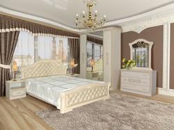 Спальня Венеция пино беж